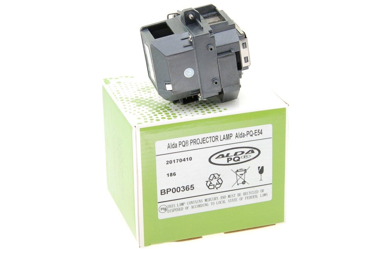 Ersatzlampe f/ür EPSON EB-X8 Projektoren Alda PQ-Premium Lampe mit Geh/äuse Beamerlampe