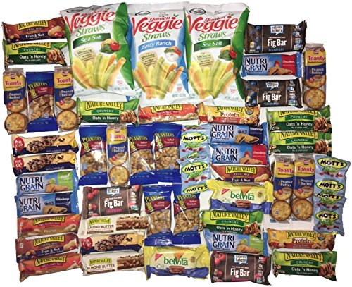 Item Bundle (The Extreme Healthy Snack Variety Bundle: 50 Items)