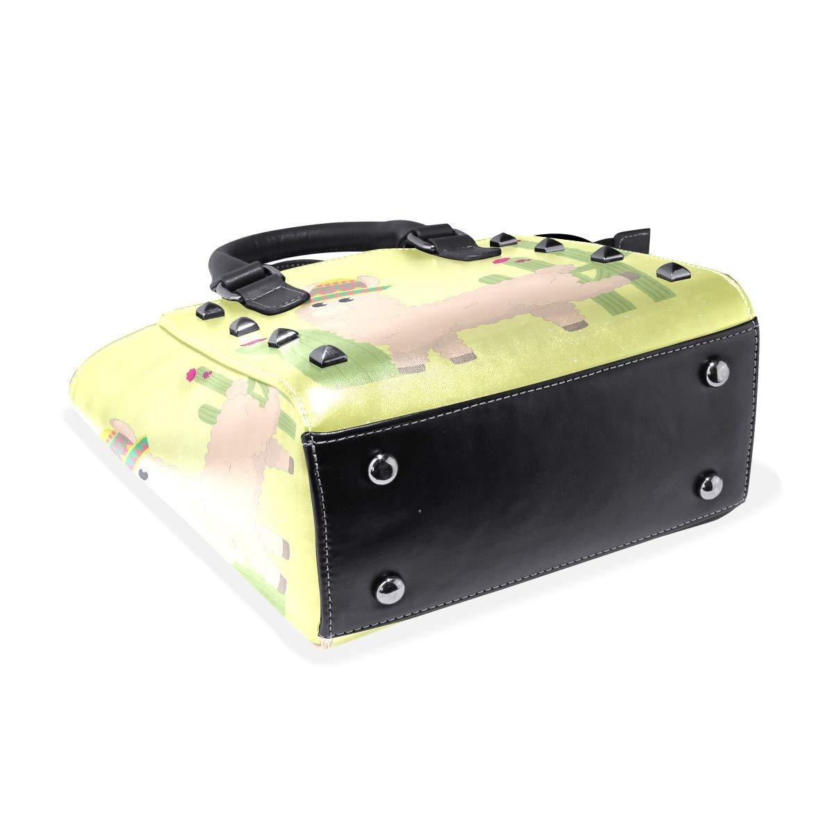 Cute Flower Animal Cactus Womens fashion Handbags Shoulder Bags Handle Satchel