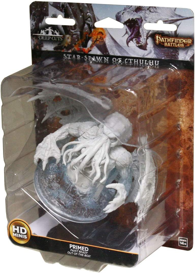 WizKids Pathfinder Deep Cuts Unpainted Miniatures: W9 Star-Spawn of Cthulhu