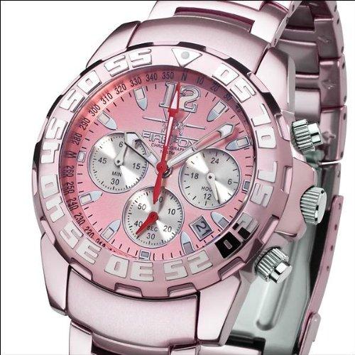 Reloj FIREFOX (CITIZEN) MUJER Cronógrafo Aluminio ROSA FFA01-190: Amazon.es: Relojes