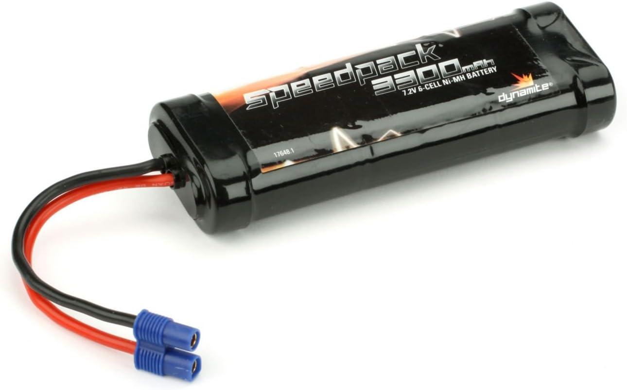 Dynamite Speedpack 1800mAh NiMH 6-Cell Flat Battery With EC3 Connector DYN1050EC