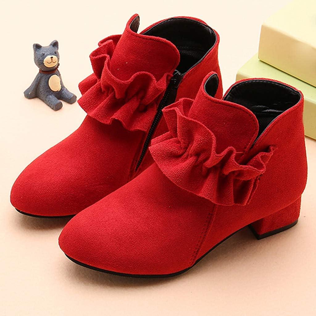 PLENTOP2020 Boys Boots for Winter,Children Baby Girls Princess Casual Shoes Winter Cotton Warm Short Boots,Girls Snow Boots
