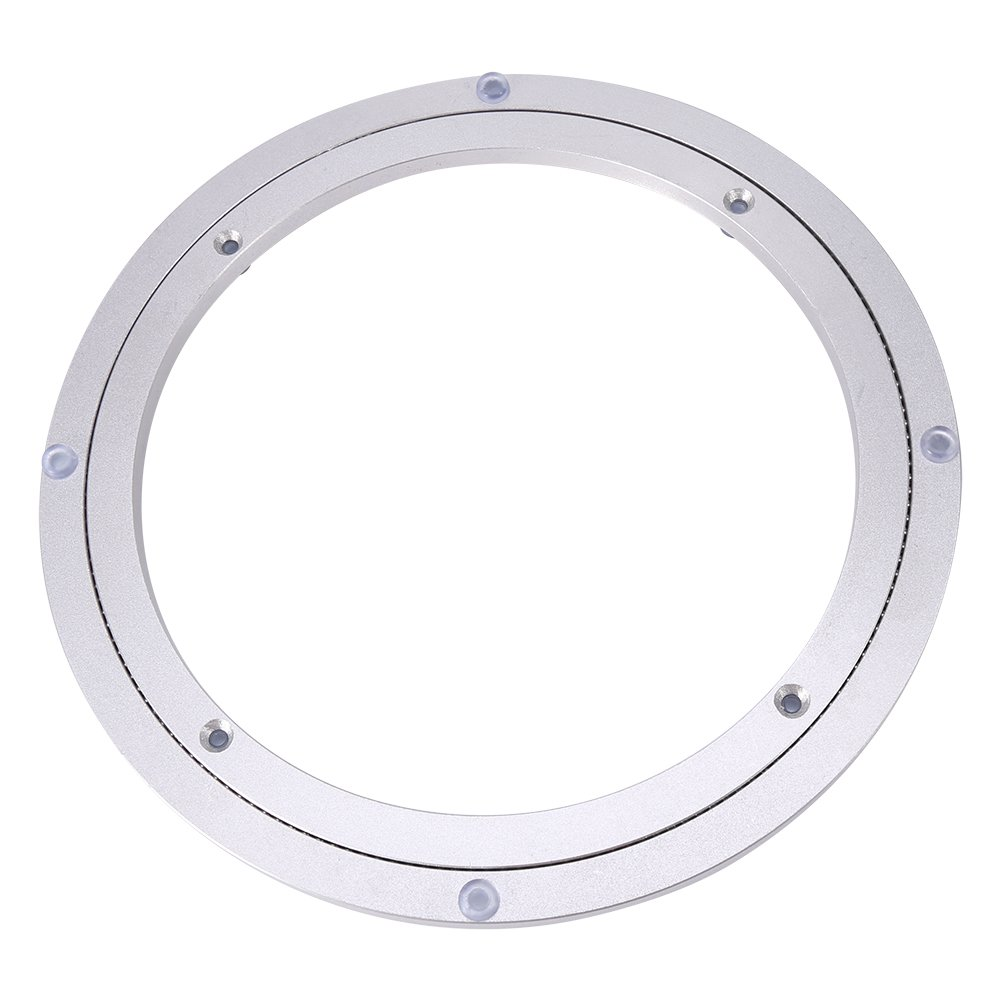 Drehkranz aus Aluminium 360/° Drehlager Drehteller Drehscheibe f/ür Esstisch//Speisetisch 6 Zoll x H 8.5MM