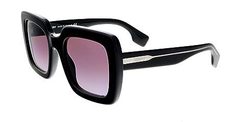 Burberry Gafas de Sol Striped Check BE 4284 Black/Violet ...