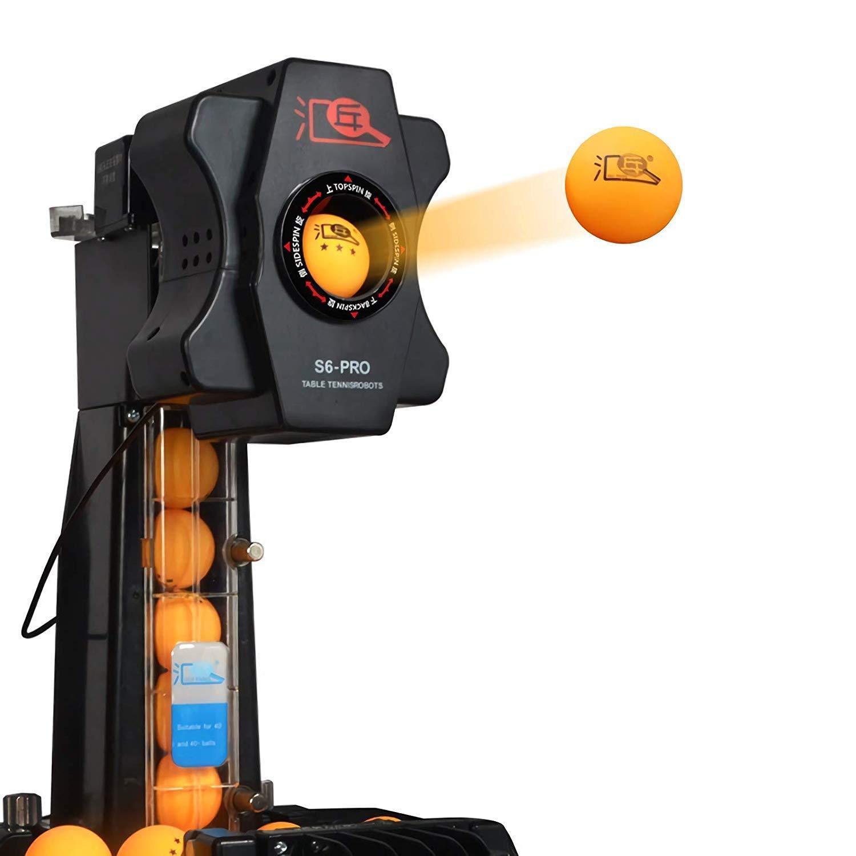Ball Machine, Table Tennis Table Tennis Robot Ball Machine 50W