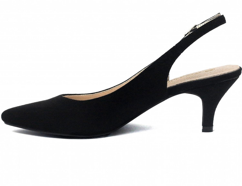 Amazon.com | Greatonu Womens Slingback Dress Pump | Pumps