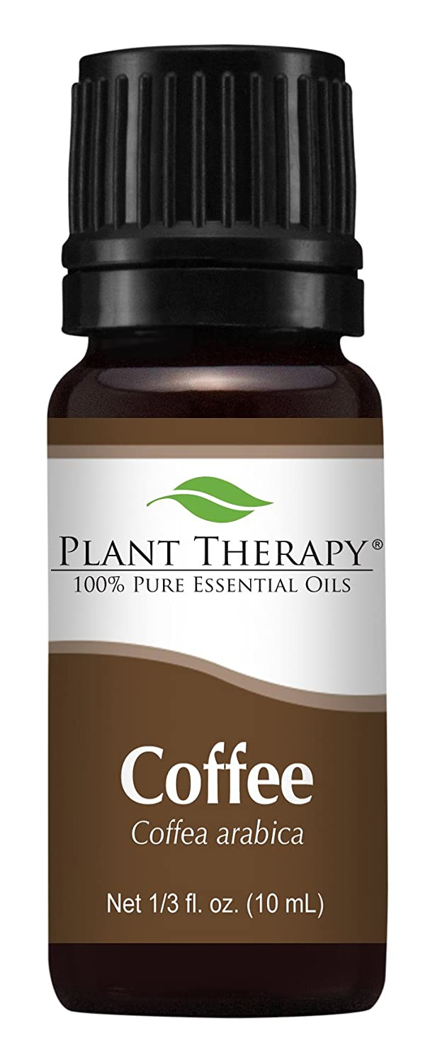 Plant Therapy Coffee Essential Oil. 100% Pure, Undiluted, Therapeutic Grade. 10 ml (1/3 oz). Plant Therapy Inc