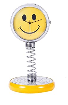 Aryshaa Smiley Spiral Antique Clock for Home and Office