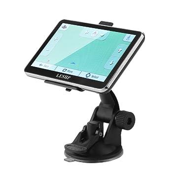 LESHP - Navegador GPS para Coche de 8 GB con Sistema de Navegación y Memoria Interna