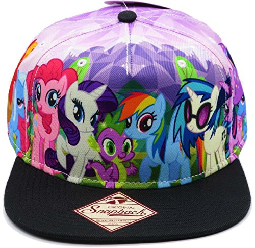 My Little Pony Brony Sublimated Adult Snapback Hat -