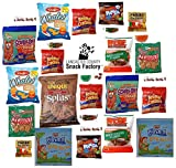 #5: Snack Care Package (30 Count) Variety Snacks Gift Box - 2 Pounds of Pretzels, Crackers & Candy
