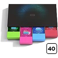 Durex Surprise Me Kit di Preservativi Assortiti, 40 Pezzi