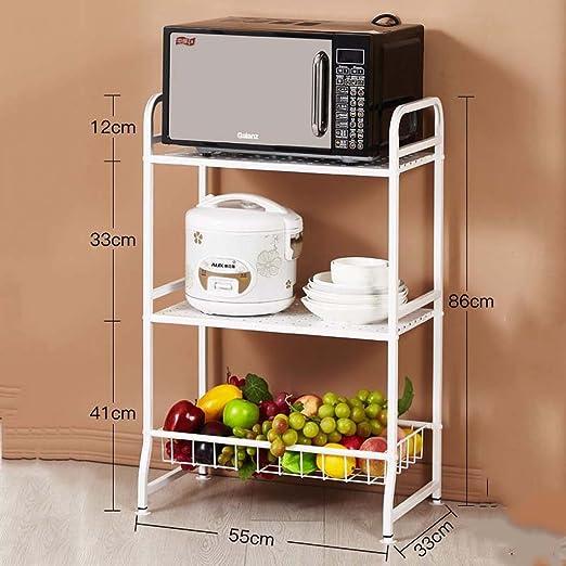 Muebles de cocina Cocina de acero inoxidable Microondas ...