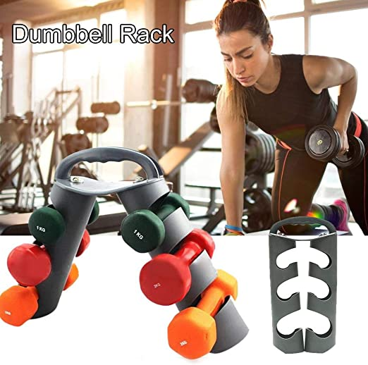 Fitness Hand Weight Dumbbell Holder Rack Storage Tree 3 Tier Stand Organizer US