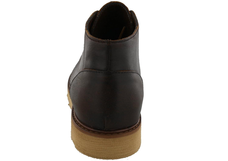 Buks by Walk-Over Mens Goodwin Tan Leather Chukka Boots