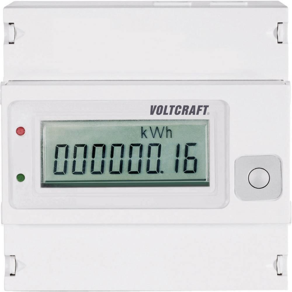 VOLTCRAFT VSM-102 Drehstromz/ähler digital 80 A MID-konform Nein