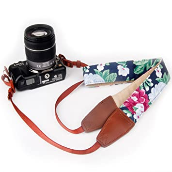 Cámara con Correa para el hombro, dopto Universal Vintage cámara ...