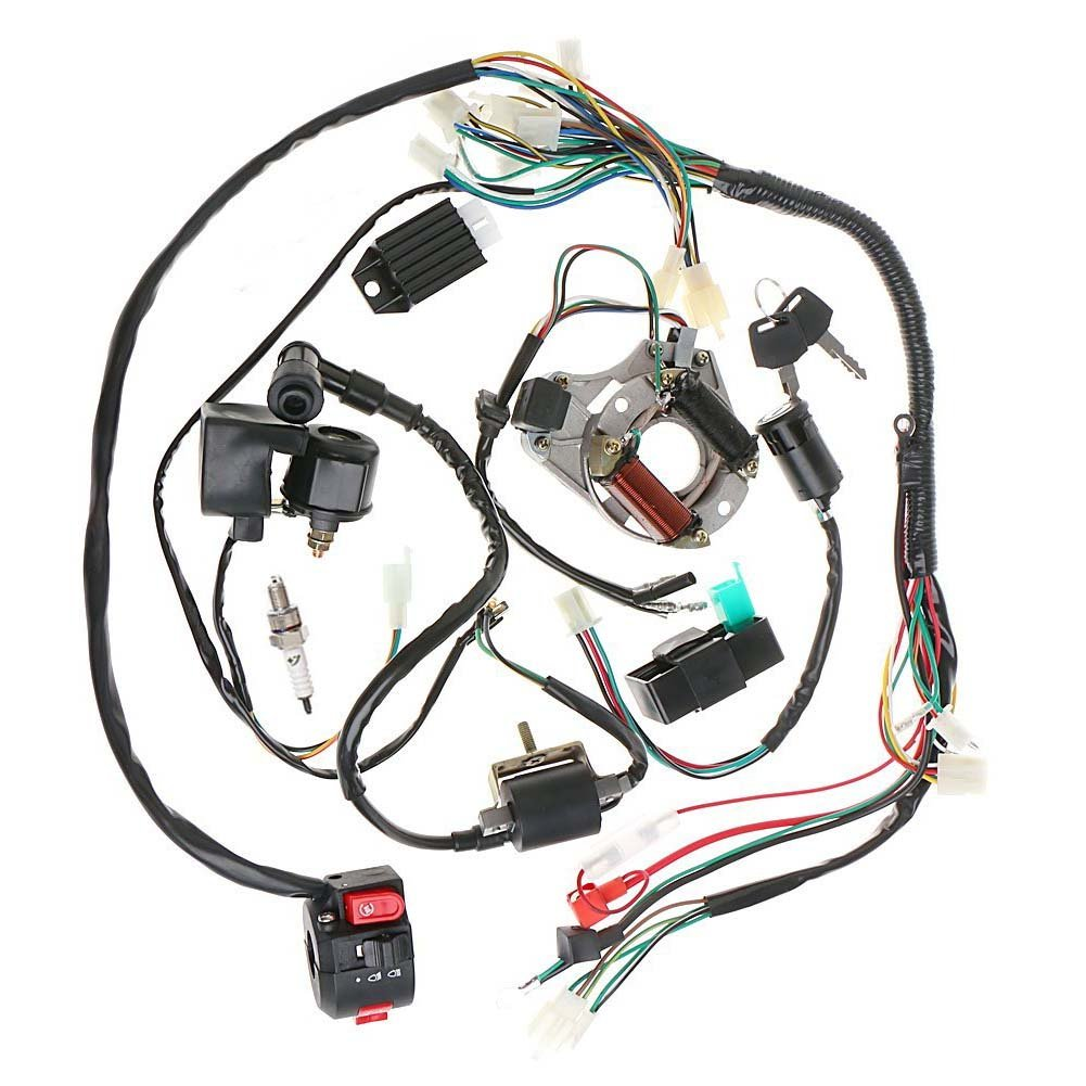 Rocketum 50cc Chinese Atv Wiring Diagram