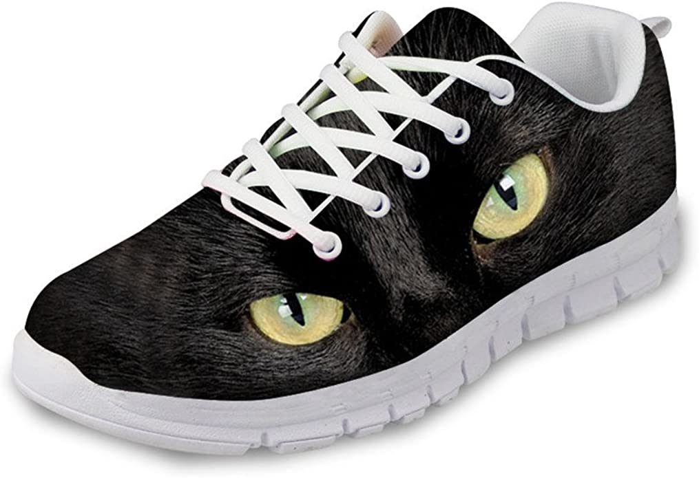 Bigcardesigns Womens Cat Running Shoes