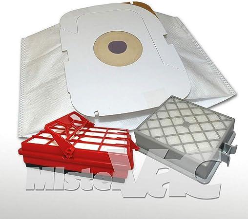 16x Bolsa aspiradora + filtro de motor Hepa + adecuada para Lux Intelligence Staubcontainer: Amazon.es: Hogar