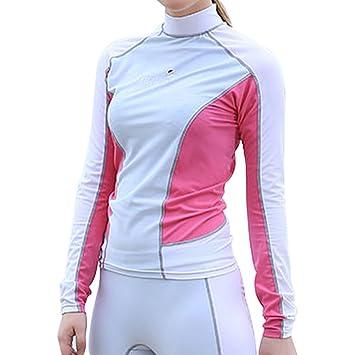 Amazon.com: THENICE Mujer Split medusas ropa UV buceo surf ...