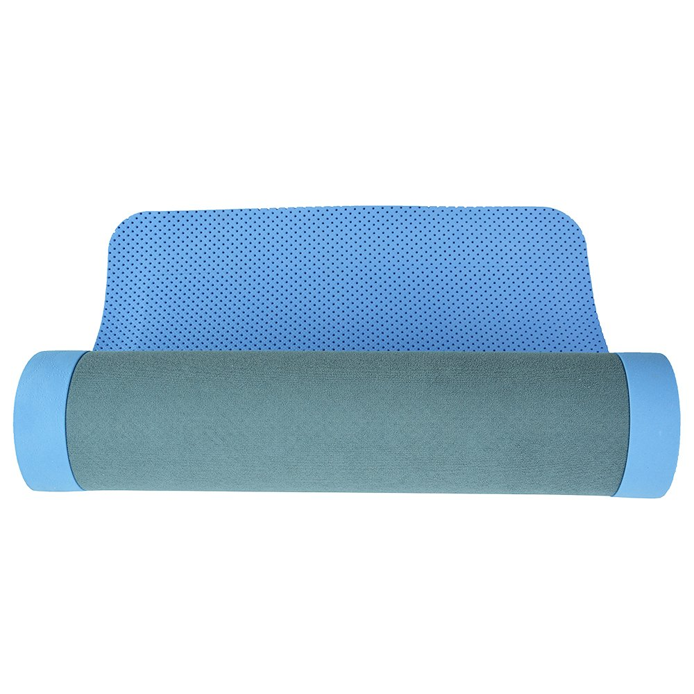 Nike Ultimate Blue Yoga Mat 8mm Blue Amazon In Sports Fitness Outdoors