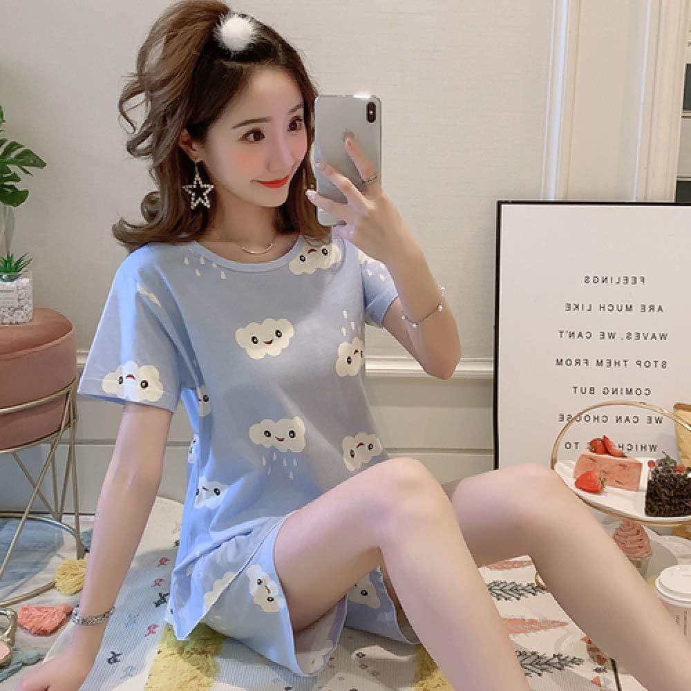 Conjunto de Pijama de algodón Lindo y cómodo para Mujer ...