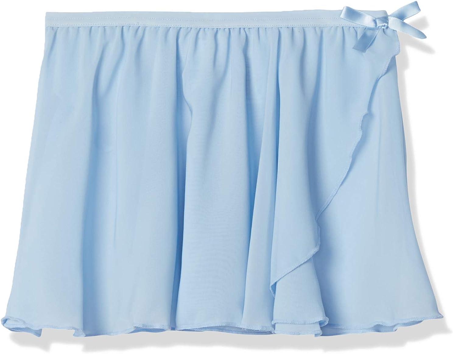 Essentials Girls' Dance Faux-wrap Skirt: Clothing