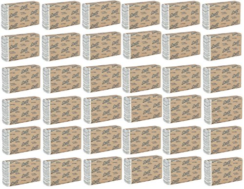 Scott C Fold Paper Towels (01510) with Fast-Drying Absorbency Pockets WfgpOdy, 36 Packs of 200 Count Paper Towels by Kimberly-Clvrk irofessional
