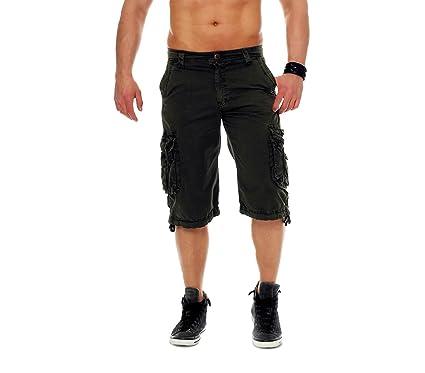 2a02af556ecdf MEDIA WAVE store ® 626 Bermudas para Hombre Modelo Jungle Bolsillos Tallas  de la 44 hasta la 50  Amazon.es  Ropa y accesorios