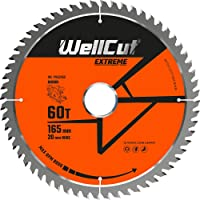 WELLCUT WC-P1652060 TCT - Hoja de sierra (165