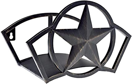 Liberty Garden Decorative Steel Liberty Star Garden Hose Butler Wall Storage