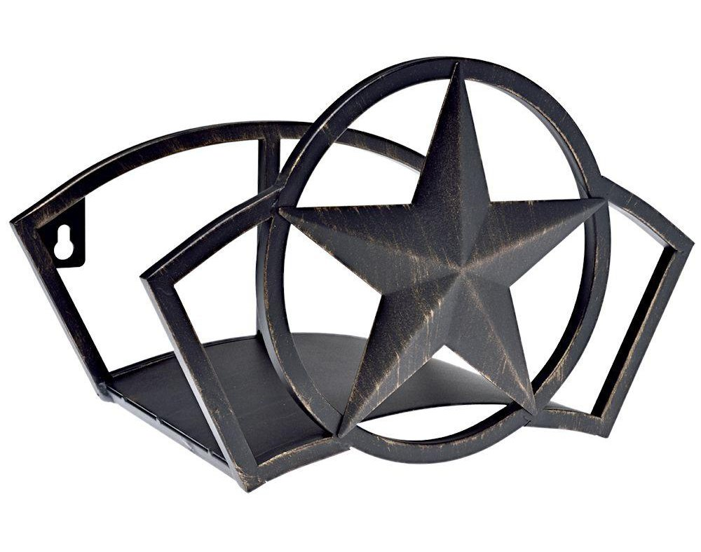 Liberty Garden Products 234 Wall Mount Star Garden Hose Butler, Holds 125-Feet of 5/8'' Hose - Bronze