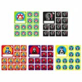Reusable Team Icon Set Superhero 5X for Agile Scrum Kanban Projects