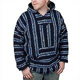 #9: Baja Joe Striped Woven Eco-Friendly Hoodie