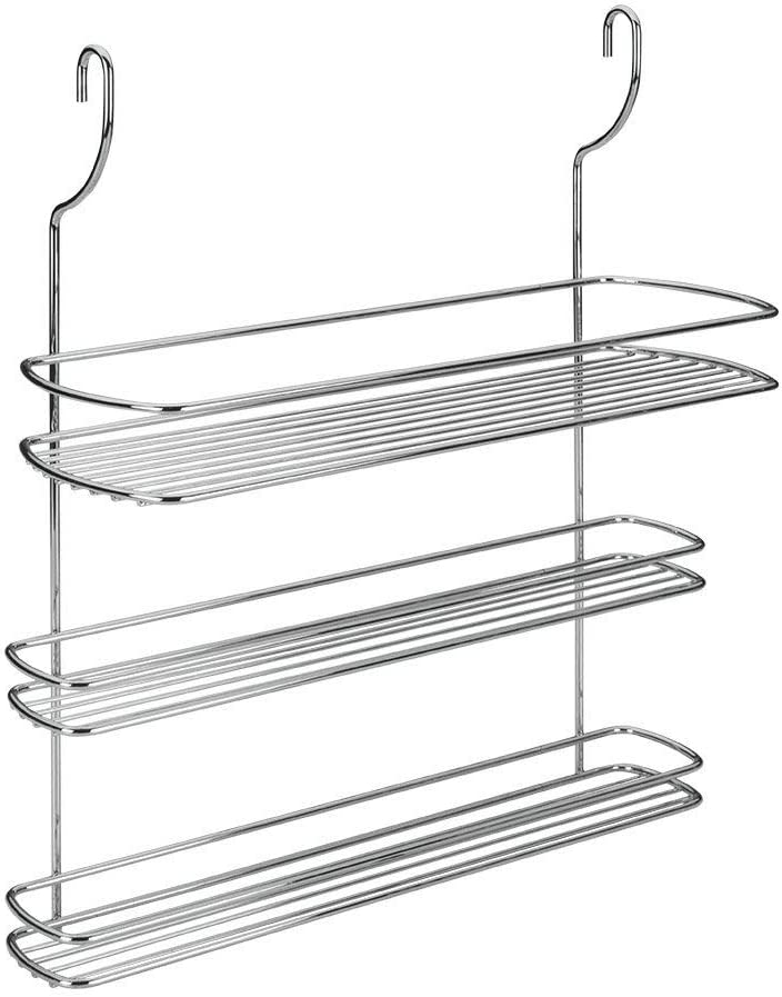Metaltex /Étag/ère /à /épices-LONARDO Argente 35 x 13 x 41 cm Acier chrom/é