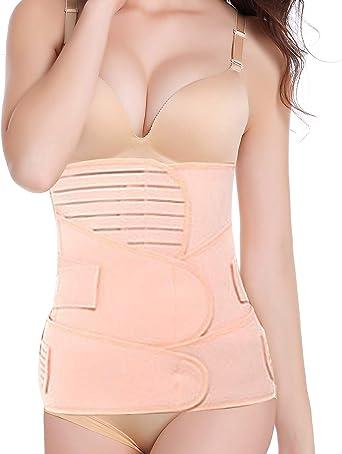 3 in 1 Postpartum Support Recovery Belt Wrap Waist//Pelvis Postnatal Body Shaper