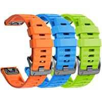 NotoCity Bransoletka do zegarka Garmin Fenix 6/Fenix 6 Pro/Fenix 5/Fenix 5 Plus/Forerunner 935/945/Instinct, szerokość…