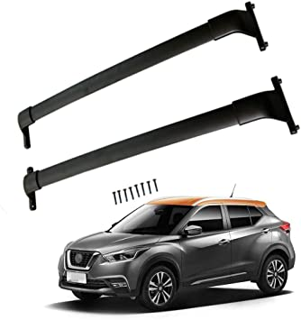 Pair Crossbar Fit for Nissan Kicks 2018 2019 2020 2021 Cross Bar Roof Cargo Rack Luggage