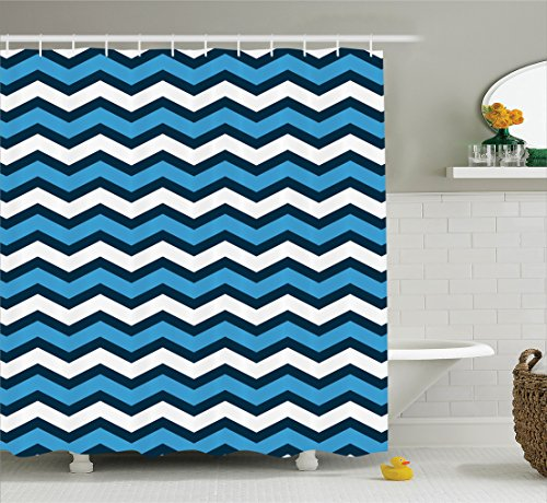 Ambesonne Geometric Collection Nautical Polyester product image