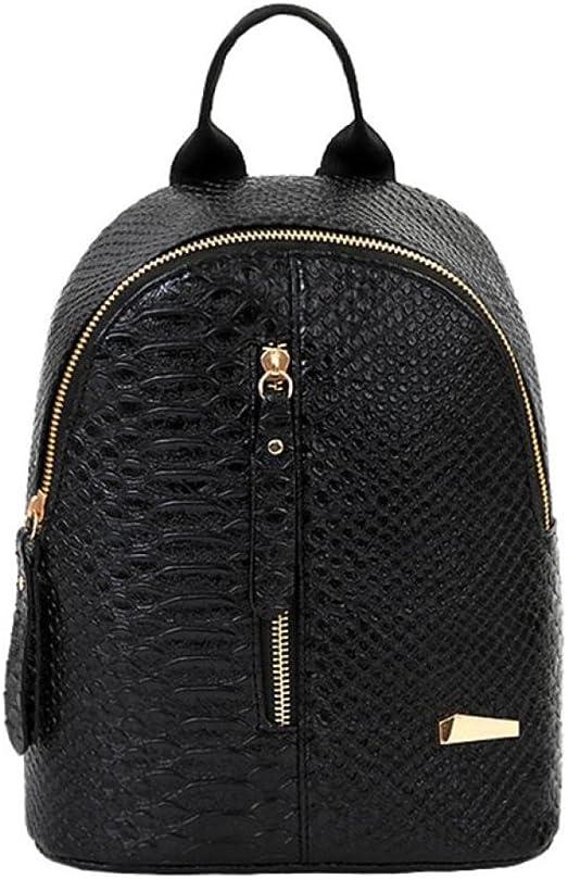Bolsos mochila mujer,Mochilas mujer casual de cuero Bolsa de viaje mochilas escolares niña bolsos mujer baratos de mano bolso playa con cremallera