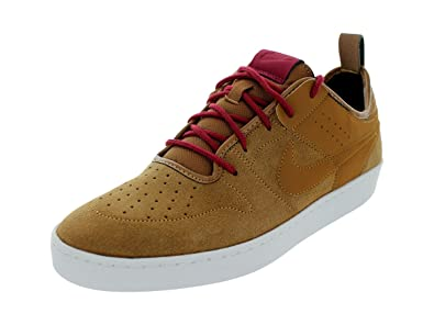 fa68a0a5ab2a NIKE Men s NSW Courtside Leather Ale Brown Ale Brown Blk Nbl Rd Casual