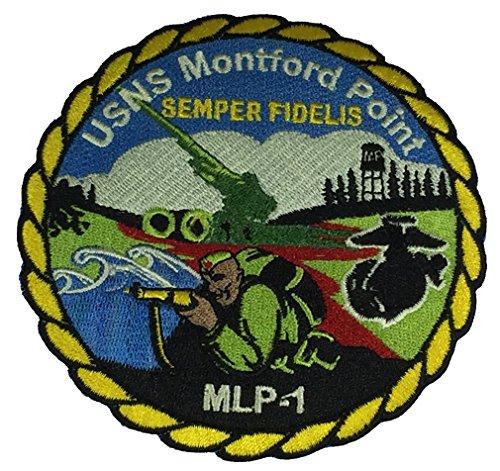 USNS MONTFORD POINT MLP-1 HISTORIC ORIGINS SHIP PATCH - COLOR - Veteran Owned Business ()