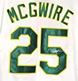 Mark McGwire Oakland Athletics Signed Autographed White #25 Jersey