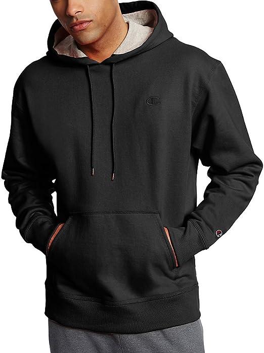 Champion Mens Powerblend Fleece Pullover Hoodie