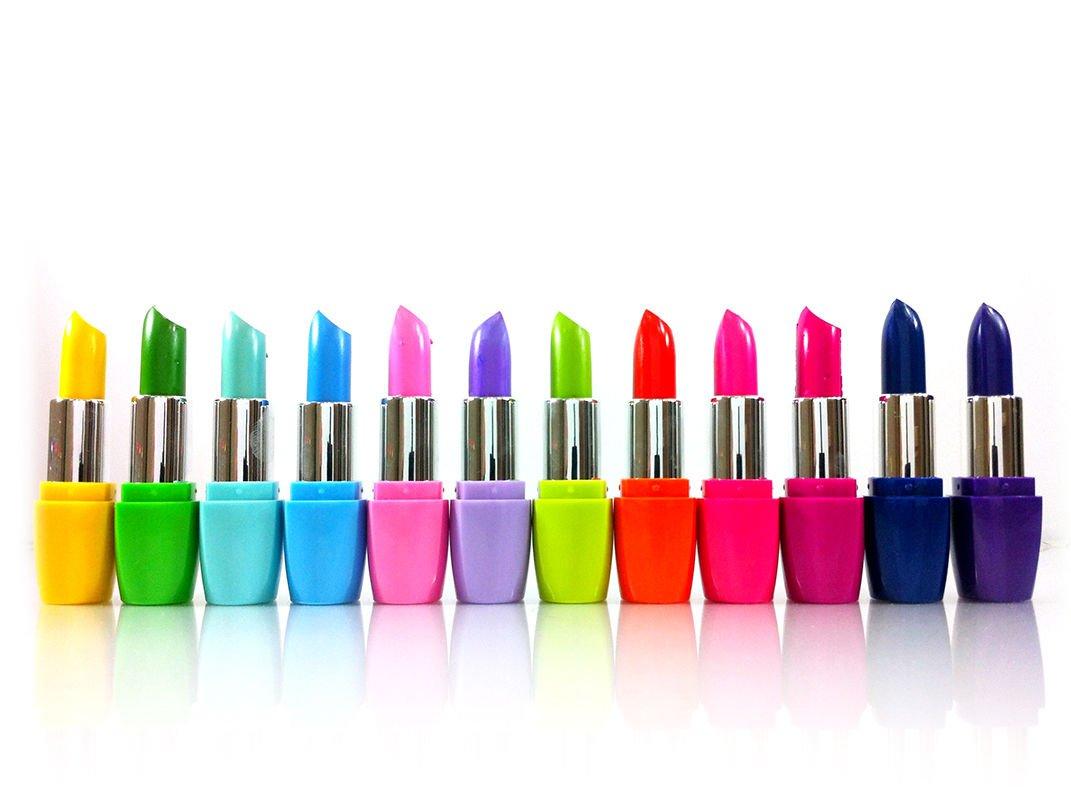 Kleancolor Femme Lipsticks 12 Colors Assorted Lipsticks with Aloe Vera and Vitamin E