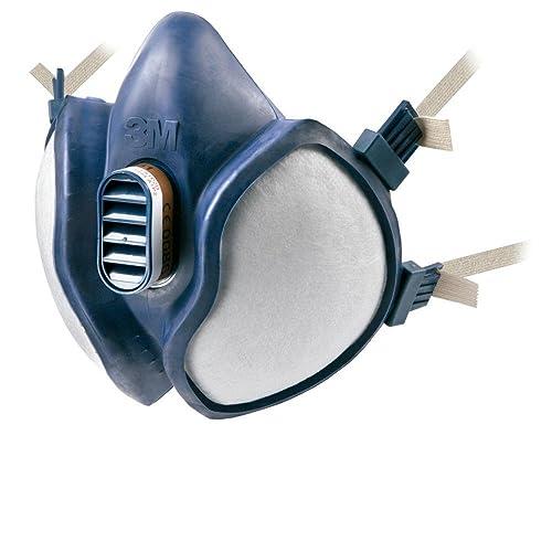 3M™ Maintenance Free Half Mask, FFA1P2 R D Filters, 4251