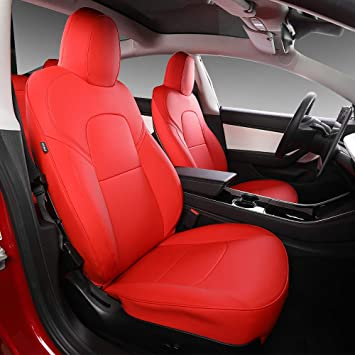 One set of Full Car Seat Cover Fit Interior Accessories Car Styling Red AU