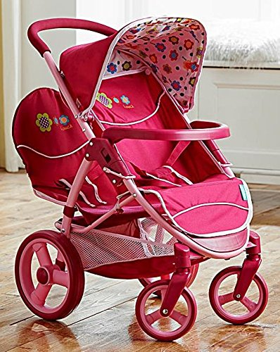 Amazon.es: MTS Hauck Malibu Dolls - Carrito de bebé para gemelos ...